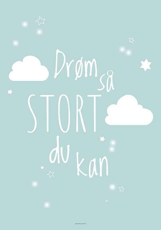 Drøm plakat