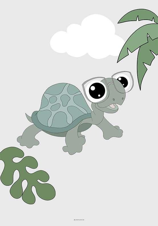 Skildpadde plakat