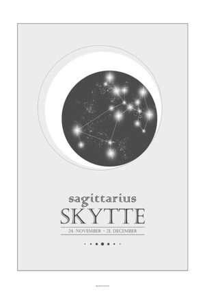 Stjernetegnplakat skytte