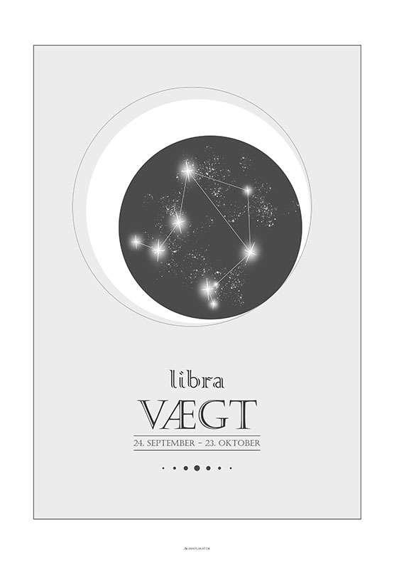 Stjernetegnplakat vægt