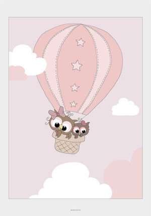 Ugler i luftballon