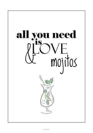 Drink plakat - Mojito