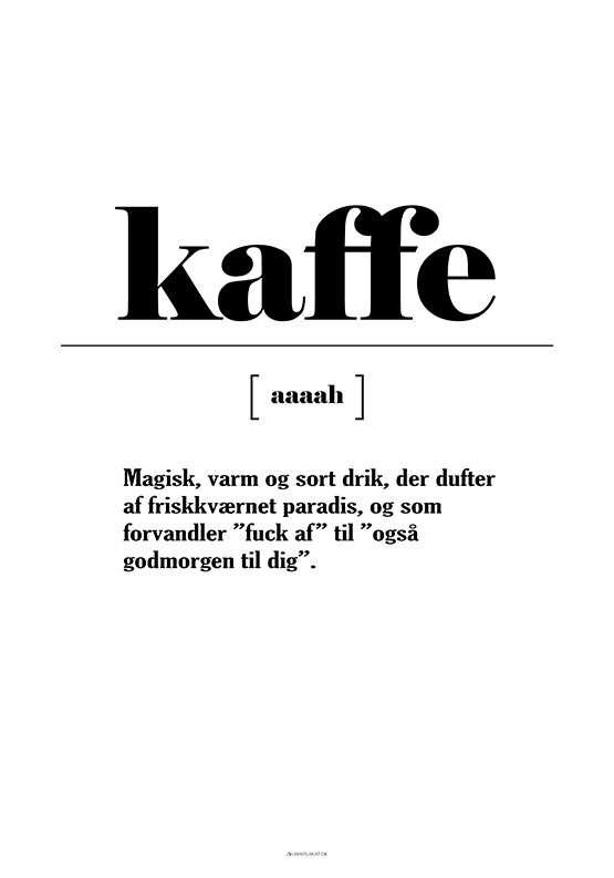 Kaffe definition
