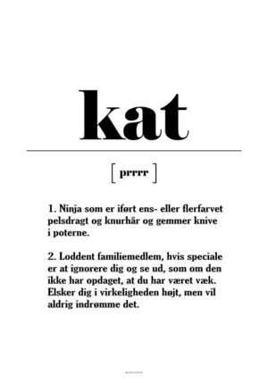 Kat definition