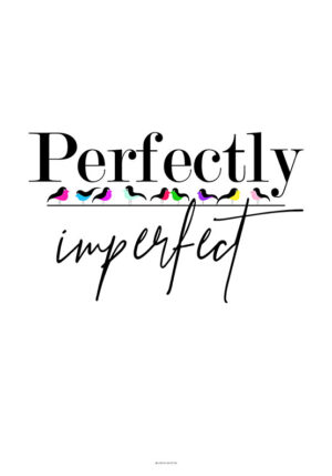 Perfectly imperfect - Birds plakat