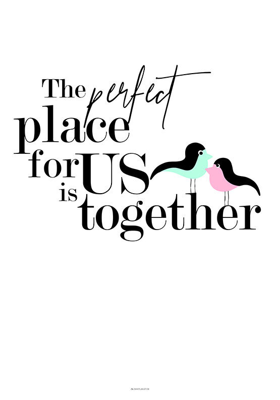 The perfect place - Birds plakat