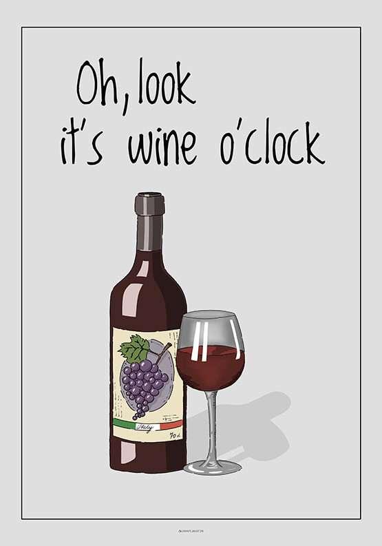 Vinplakat