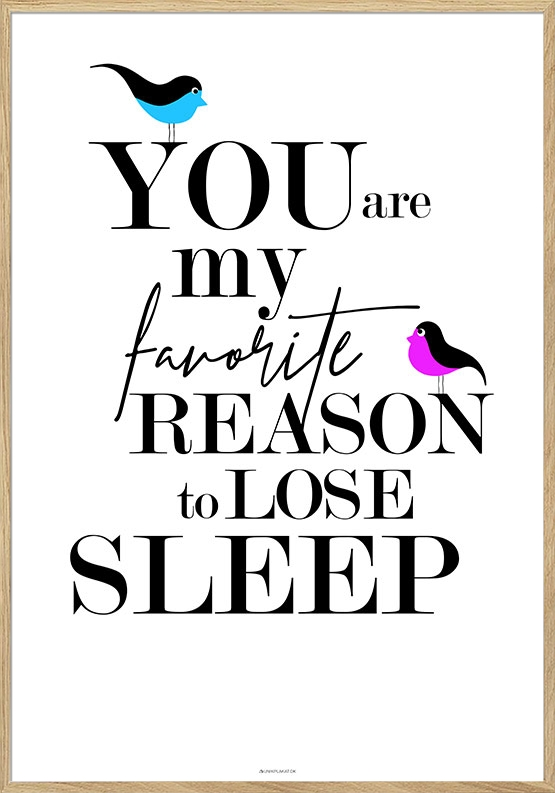 You are my favorite - Birds plakat