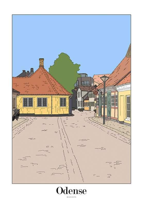 Byplakat - H. C. Andersens Hus
