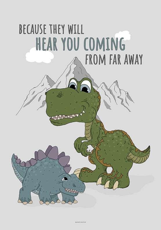 Dinosaurusplakat
