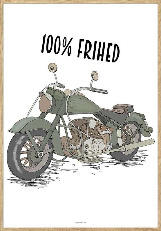 Motorcykelplakat